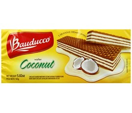 Coconut Wafer Bauducco 165g