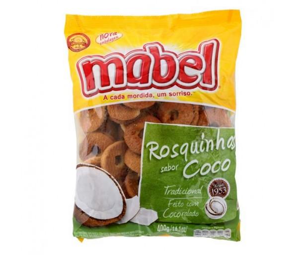 Rosquinha de Coco Mabel 400g