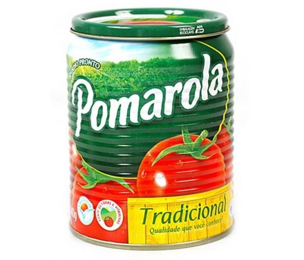 Molho de Tomate Tradicional Pomarola 340g