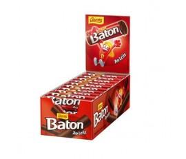 Chocolate Baton ao leite - caixa com 30 unidades