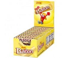 Chocolate Baton Branco - caixa com 30 unidades