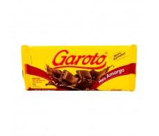 Chocolate meio amargo Garoto Tablete 125g