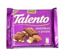 Chocolate Talento amêndoas e passas 90g