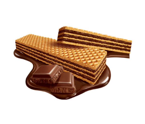 Wafer Chocolate Bauducco 165g